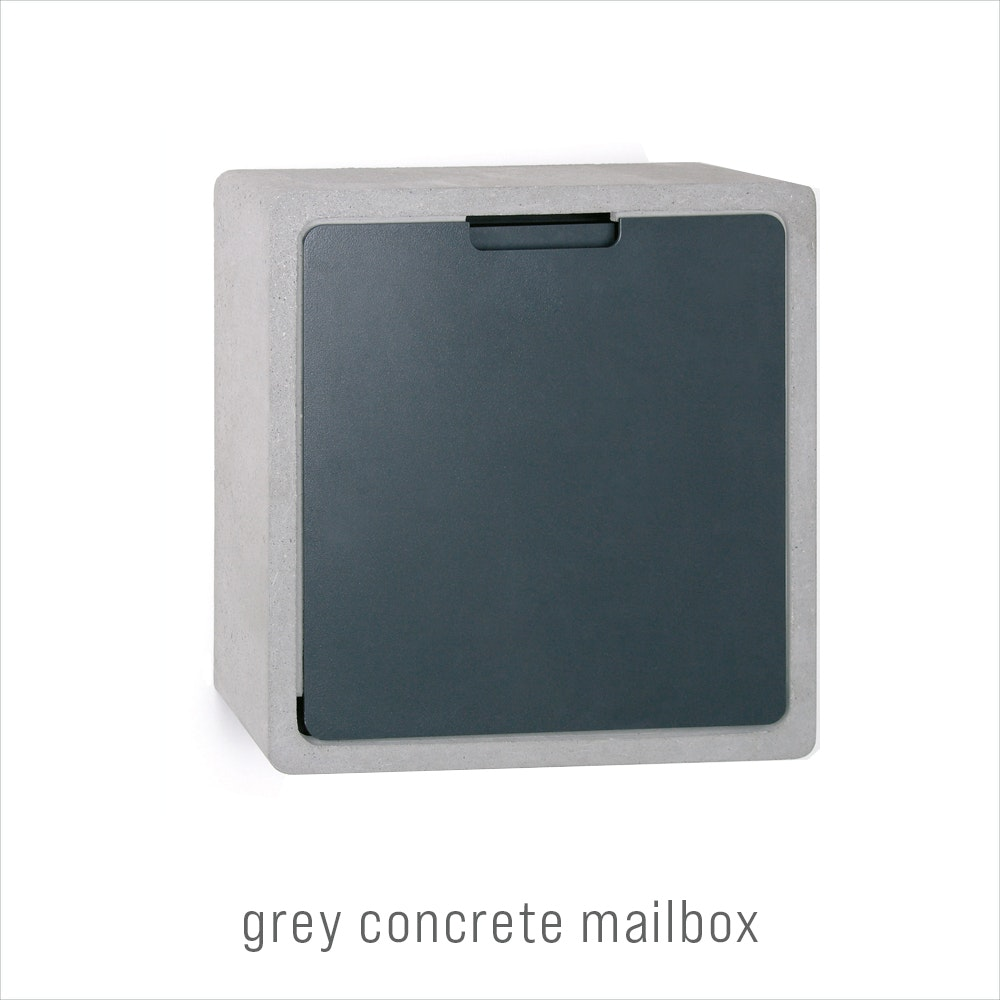 door accessories concretemailbox grey Urban Front 1