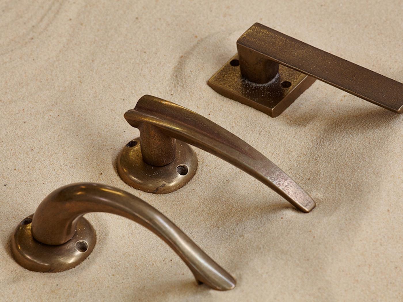 bronze lever handles