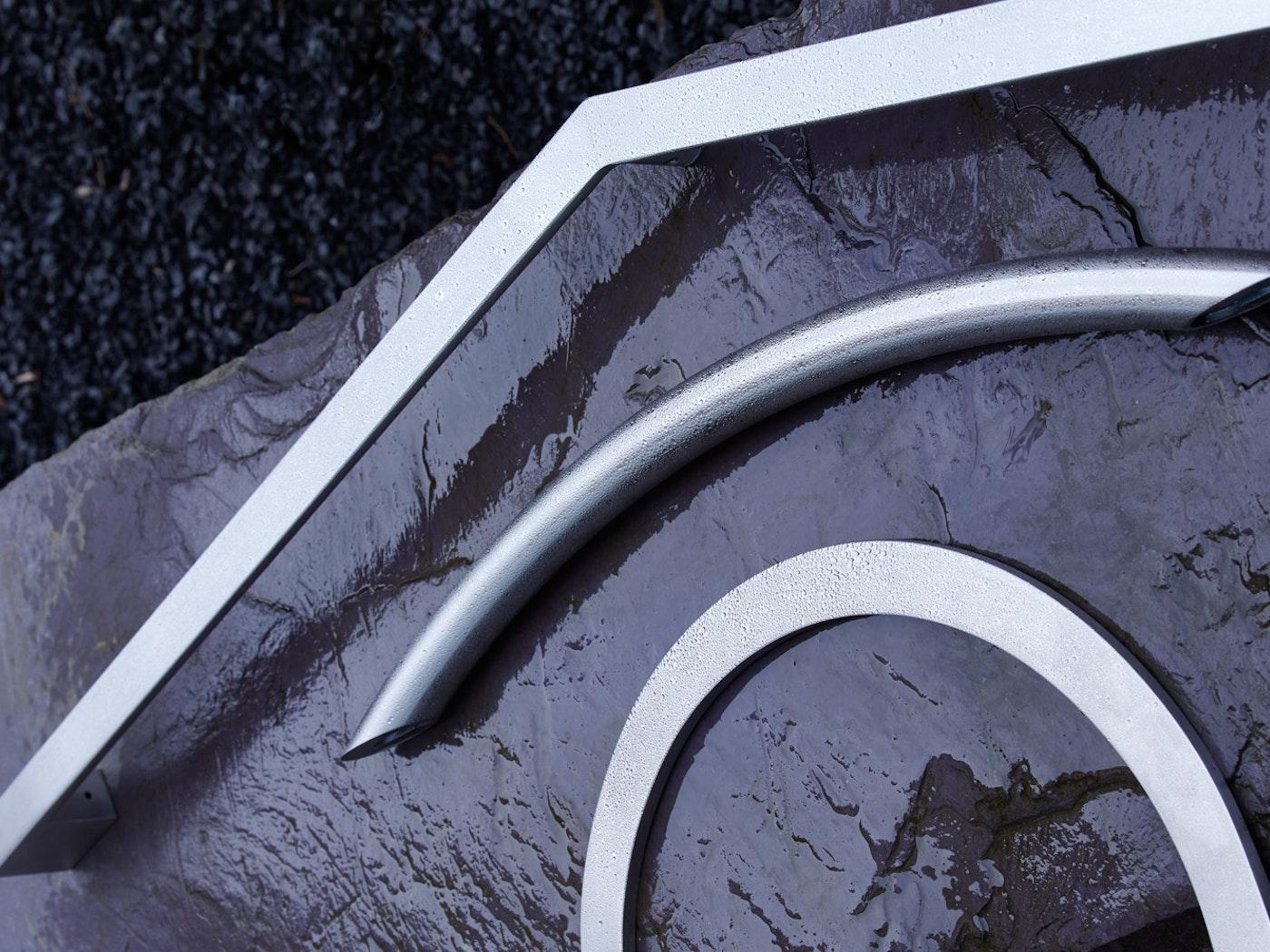 steel pull handles