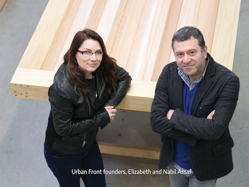 Elizabeth and nabil urban front founders