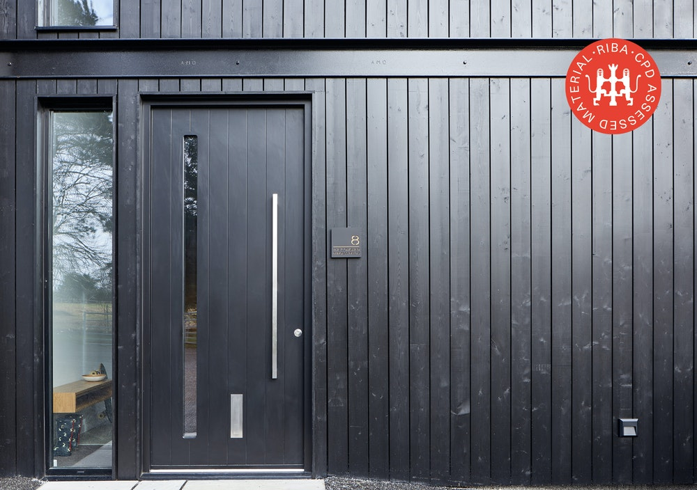6 steps to choose front door for house with timber cladding article thumbnail
