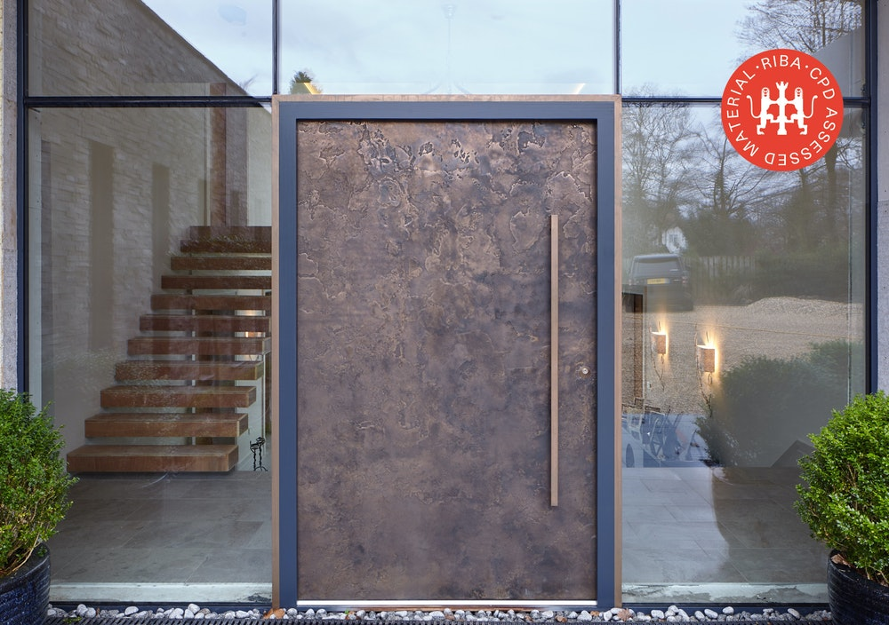 Is a metallic finish the right choice for your front door article thumbnail