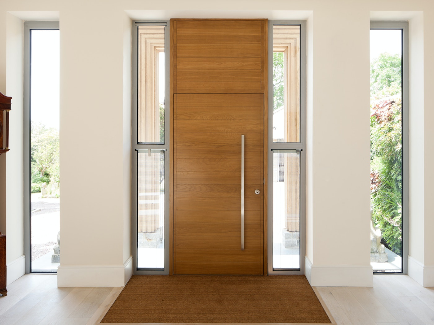Urban Front doors can be fit into any architectural glazing or glass walling