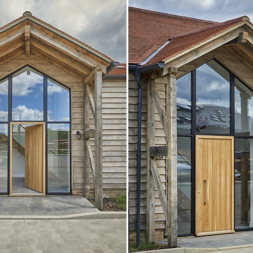 fitting doors glazing