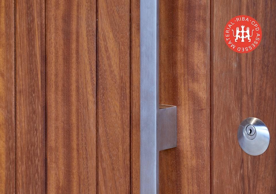 choosing wood for your front door article thumbnail