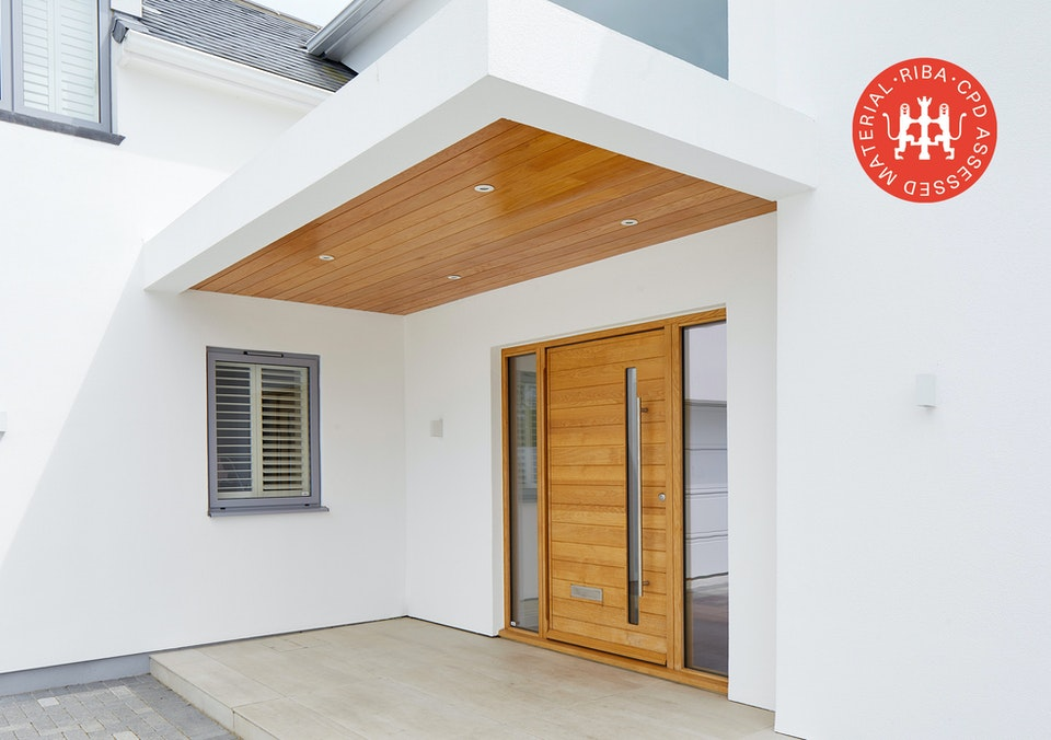 how to choose a door for rendered houses article thumbnail