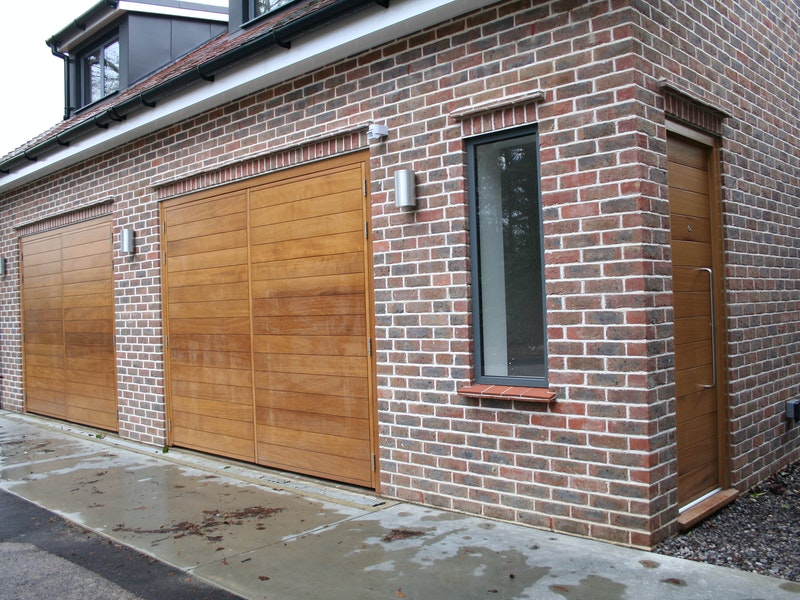 side hung garage doors