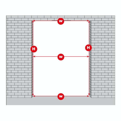 measure your structural opening 2