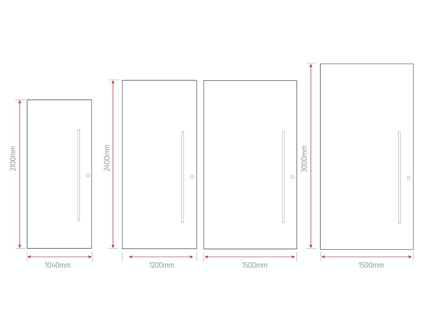 standard door sizes v2