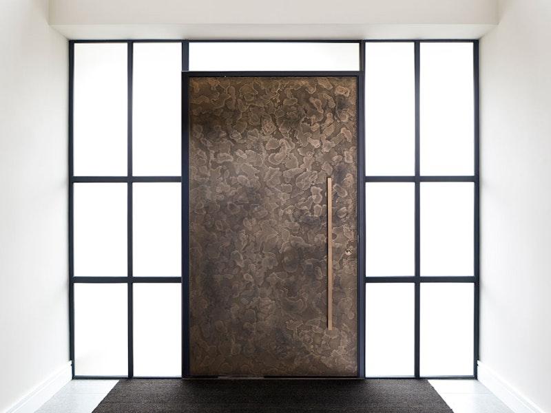 Textured bronze front door | Ref: 101 | Urban Front