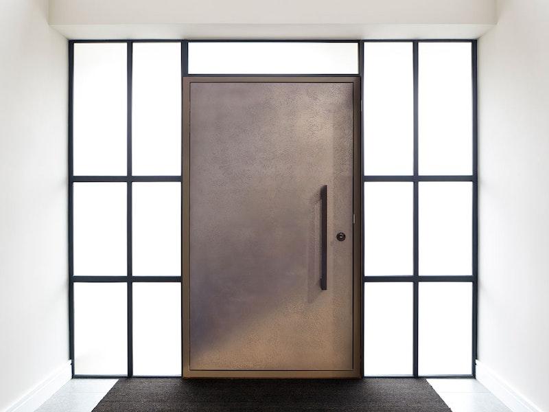 Silver bronze front door | Ref: 110 | Urban Front