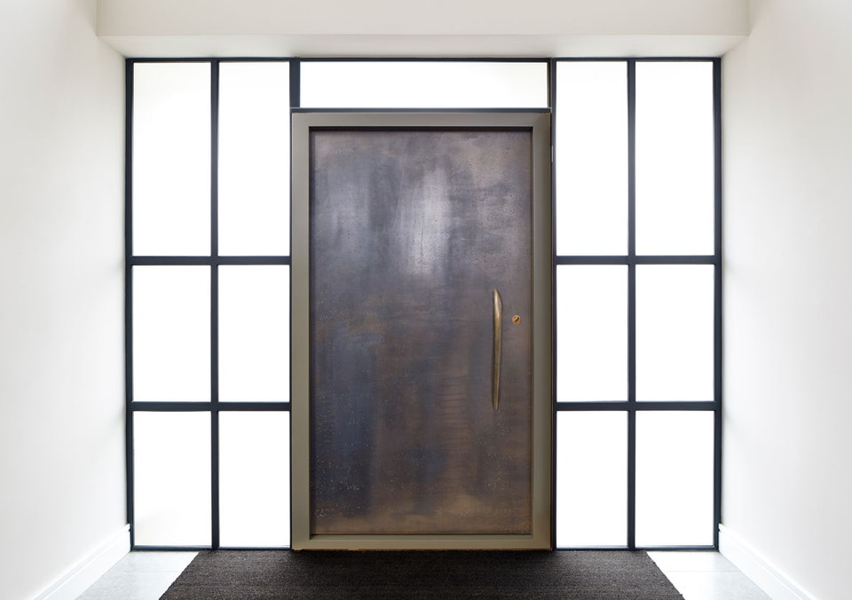 Vintage bronze front doors | Ref: 111 | Urban Front