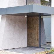 London house exterior 2 door case study Urban Front