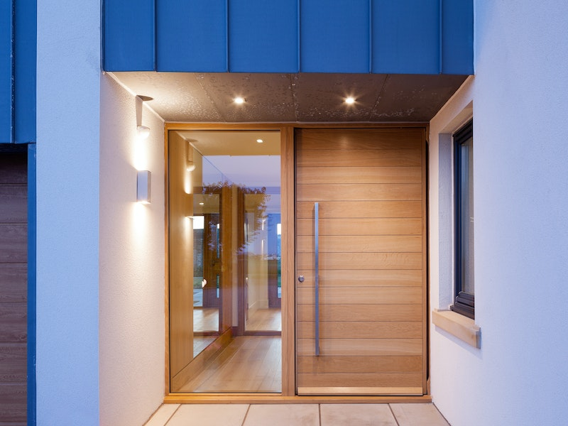 Doors In Contemporary Houses Urban Front