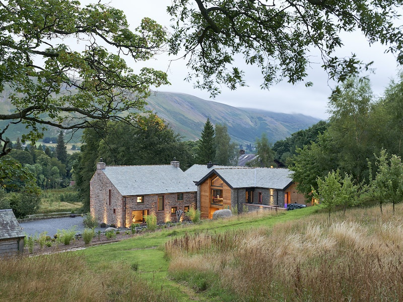 Inspirational views for this remodelled farmhouse