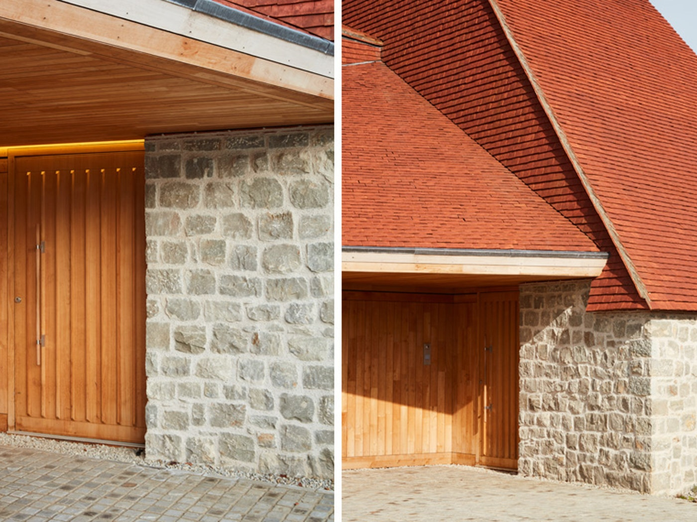 Urban front worked alongside the architects ensuring the doors would not stand out too much