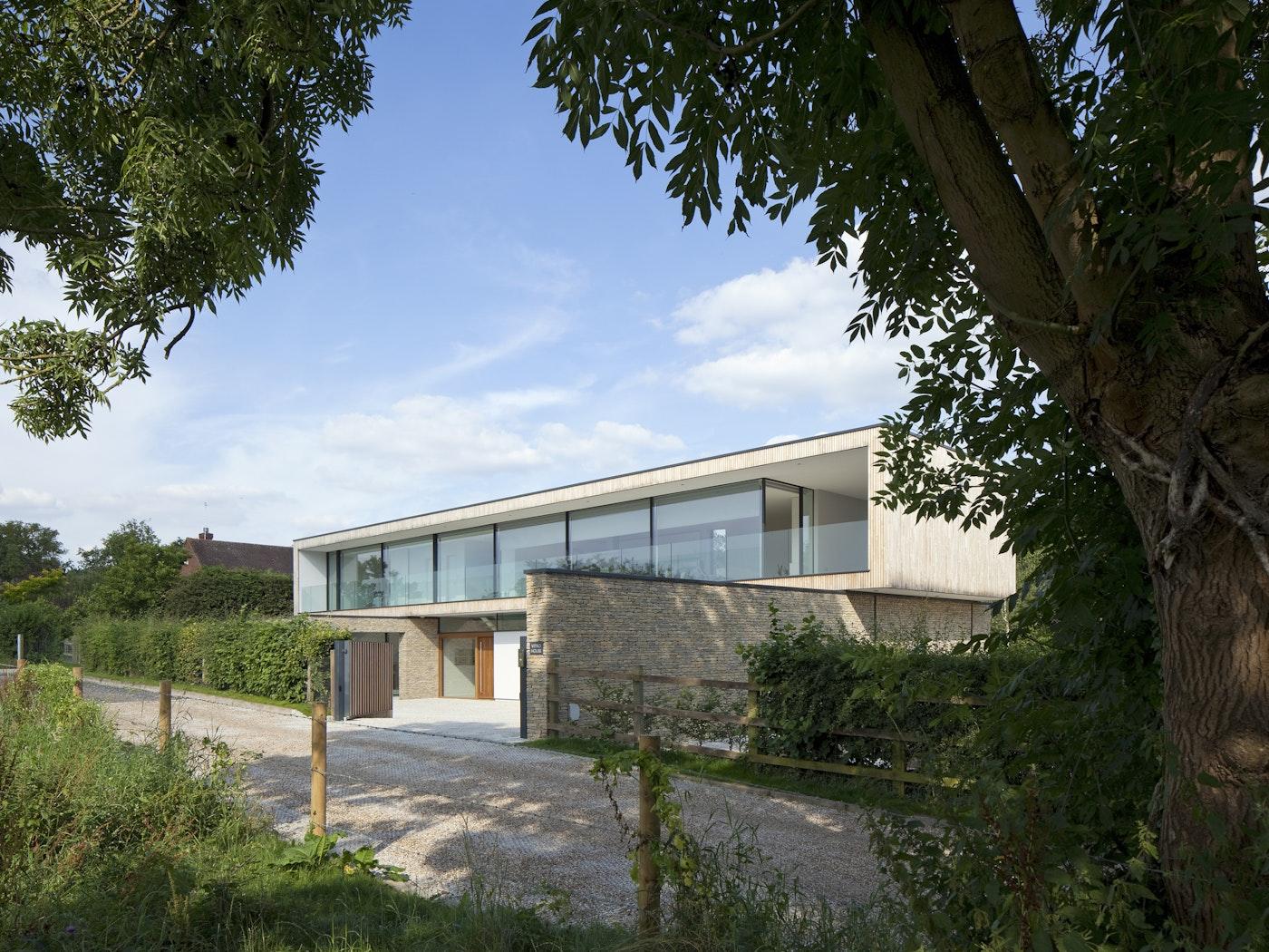 Award winning house design featuring Urban Front's Porto front door