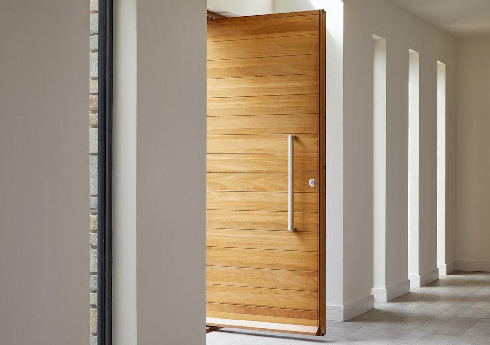 iroko wood doors Urban Front 3