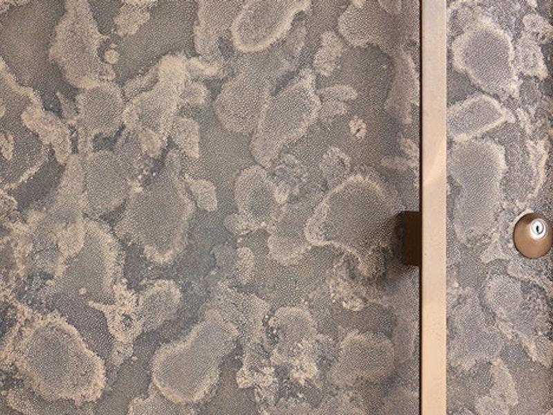 Bronze door finish detailed close up | Urban Front