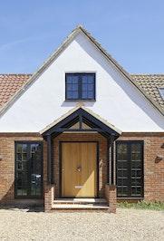 This impressive, big oak door measures 1500mm x 2100mm