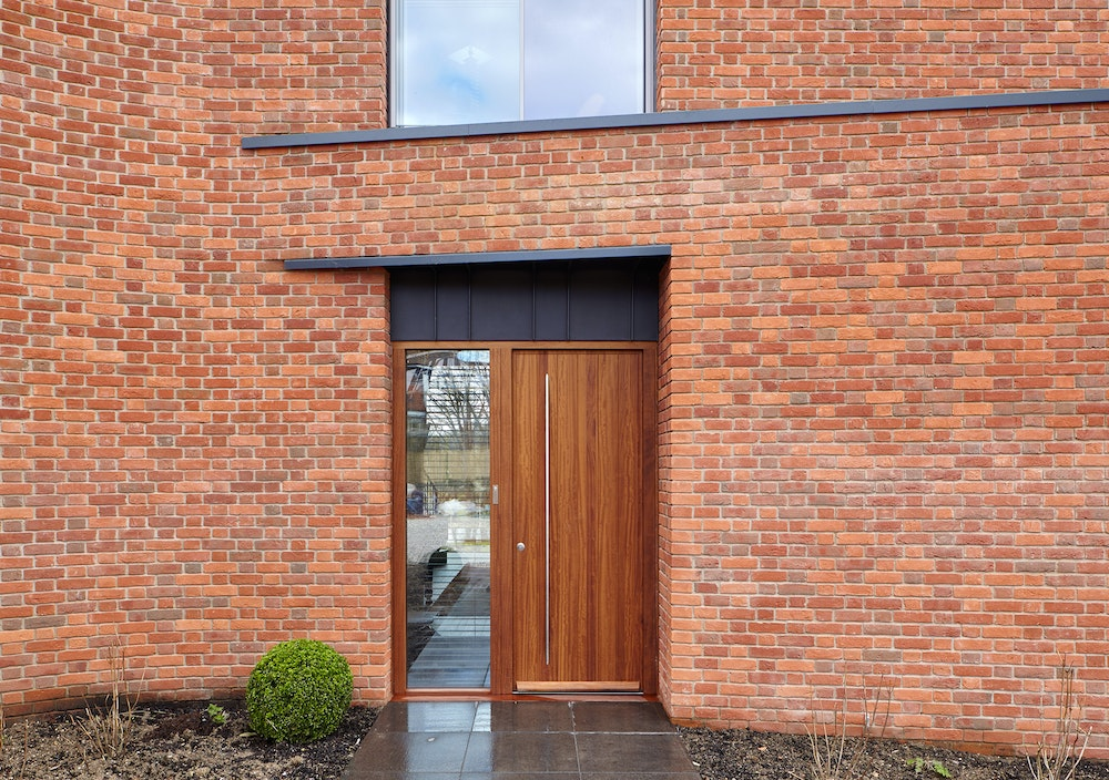 One of 5 external doors that were supplied by Urban Front