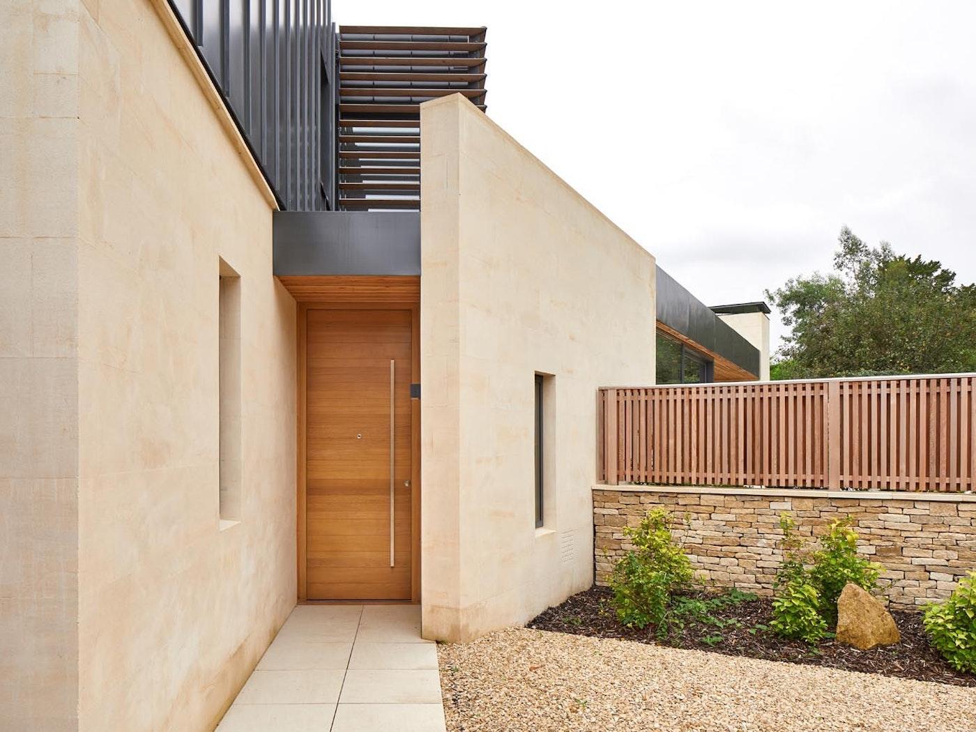 passive house front door