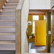 Colour front doors interior | Yellow | Urban Front