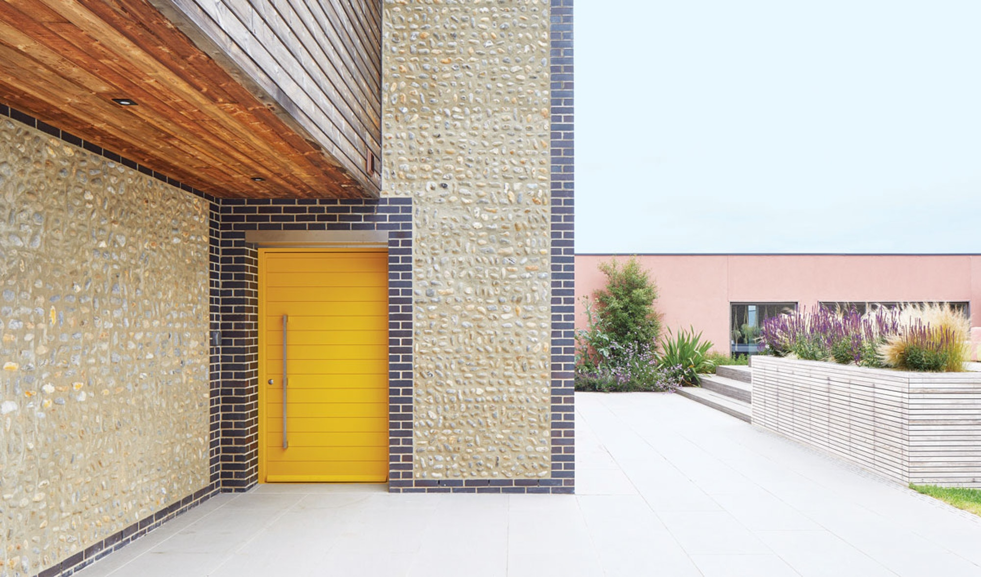 colour front doors yellow header Urban Front
