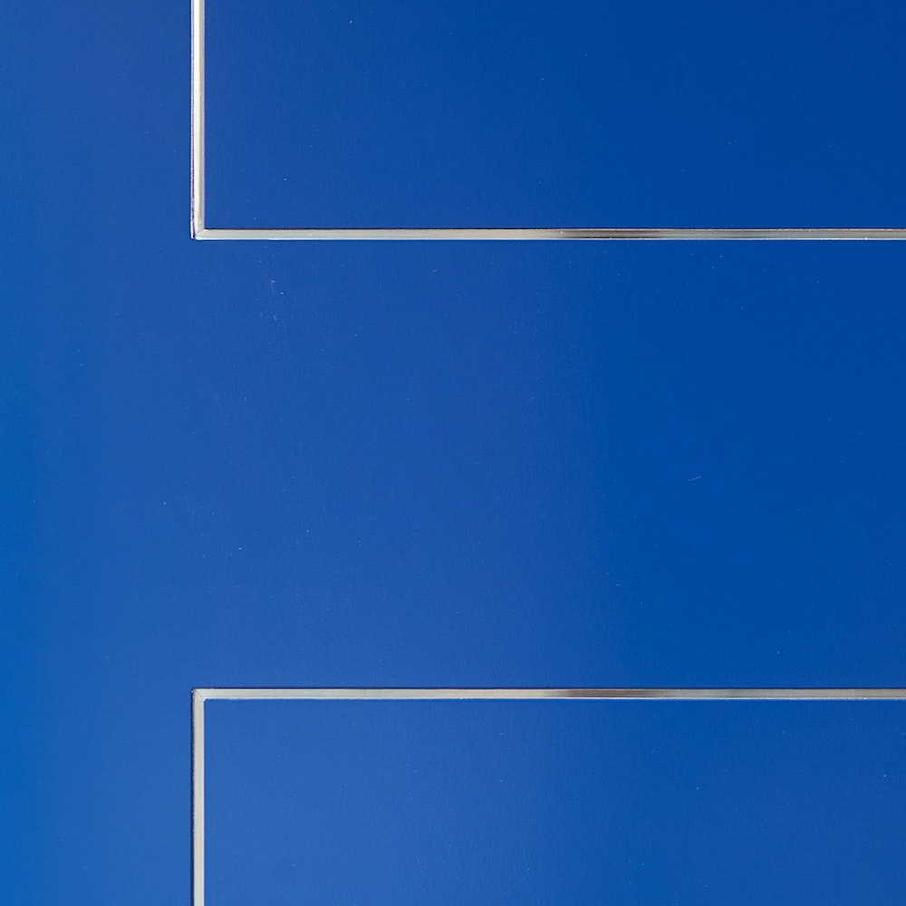 Blue painted | Door finishes | Urban Front