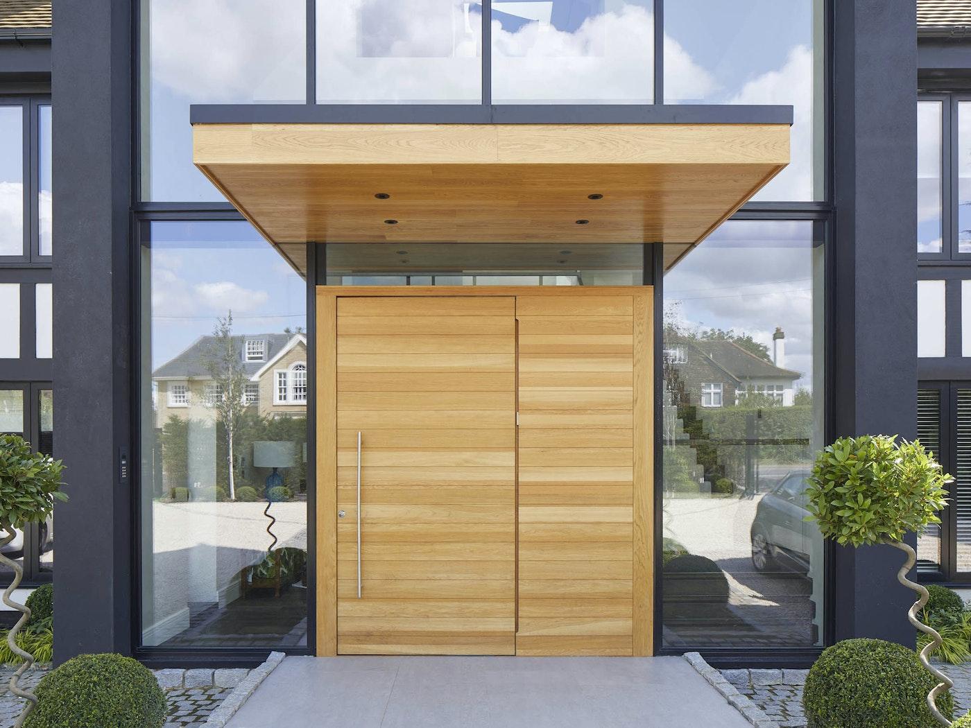 flush door canopy