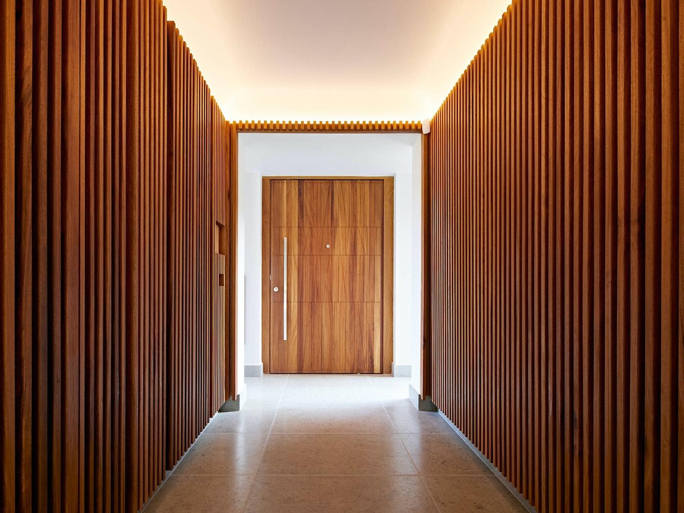 Internal view Quattro front door