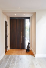 Modern oak front door Urban Front