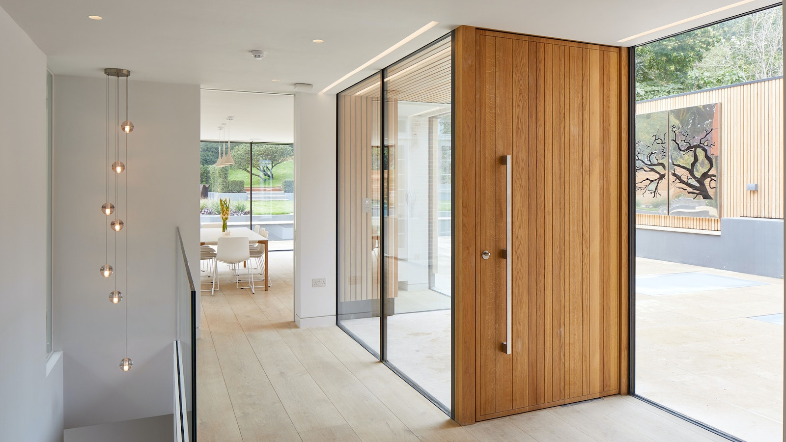 Oak front doors UK Urban Front