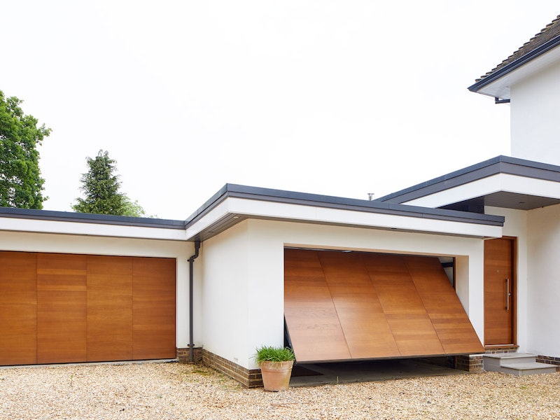 Up and over garage doors | Double facing | Urban Front