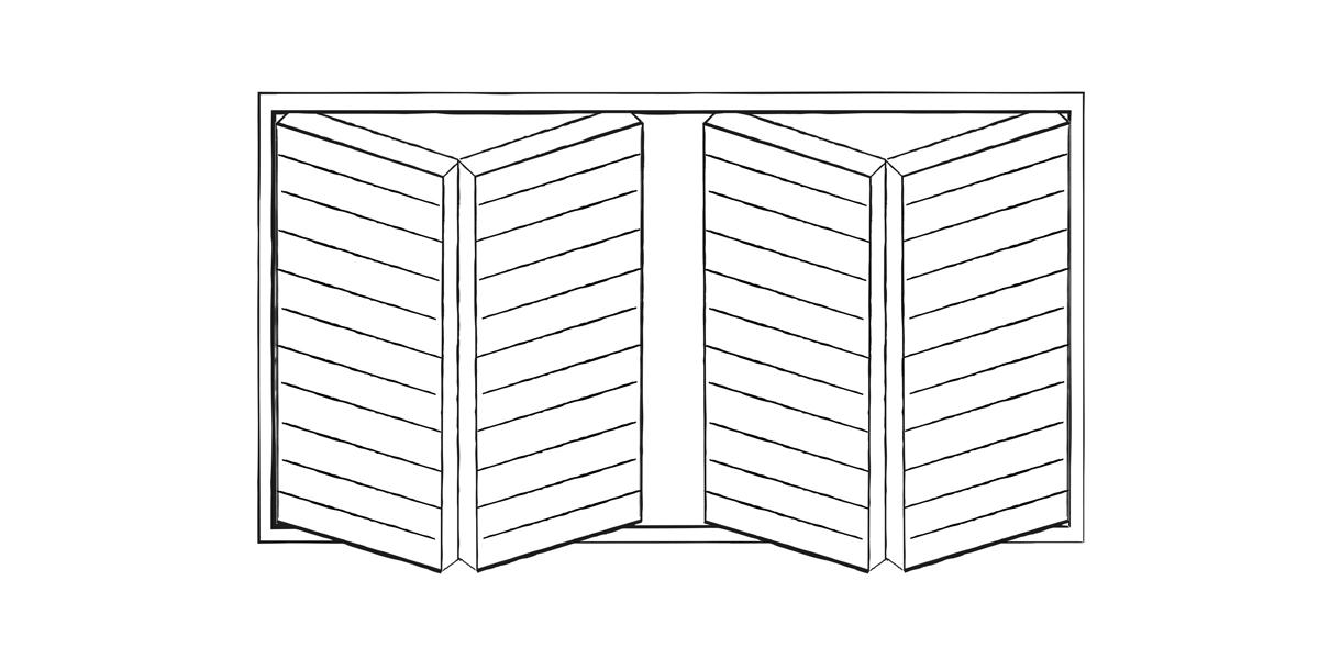 Bifold garage door design | Urban Front