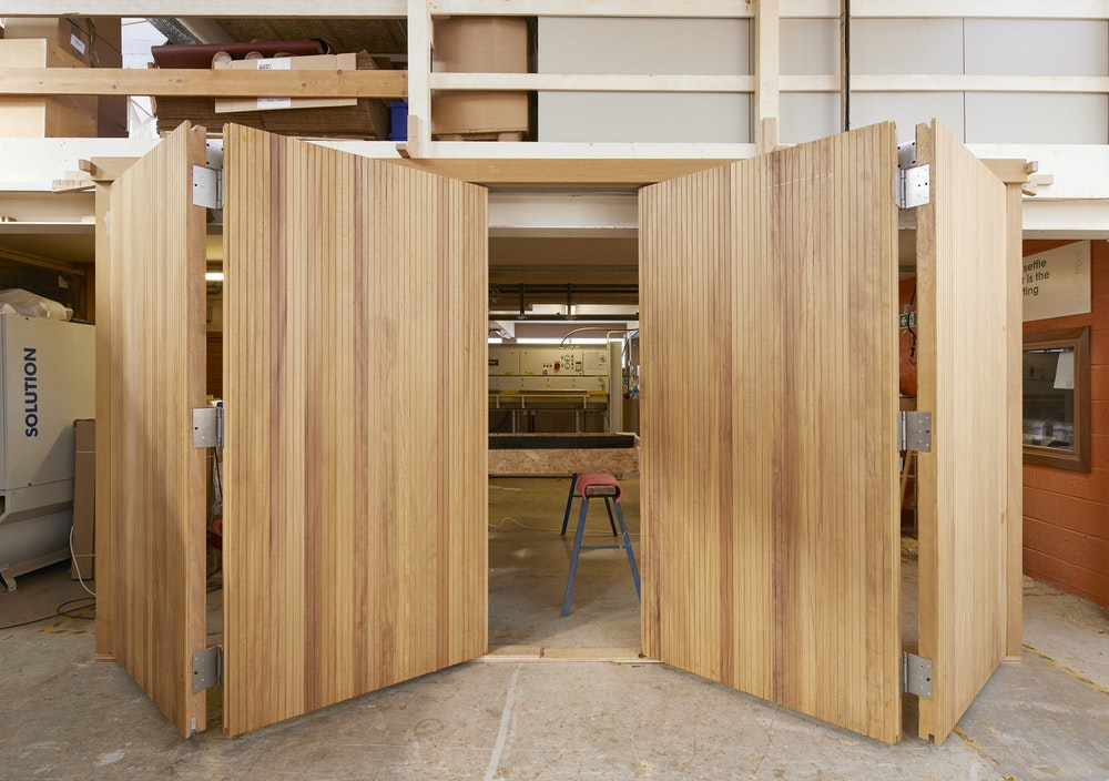 Bifold garage doors | Opening | Urban Front