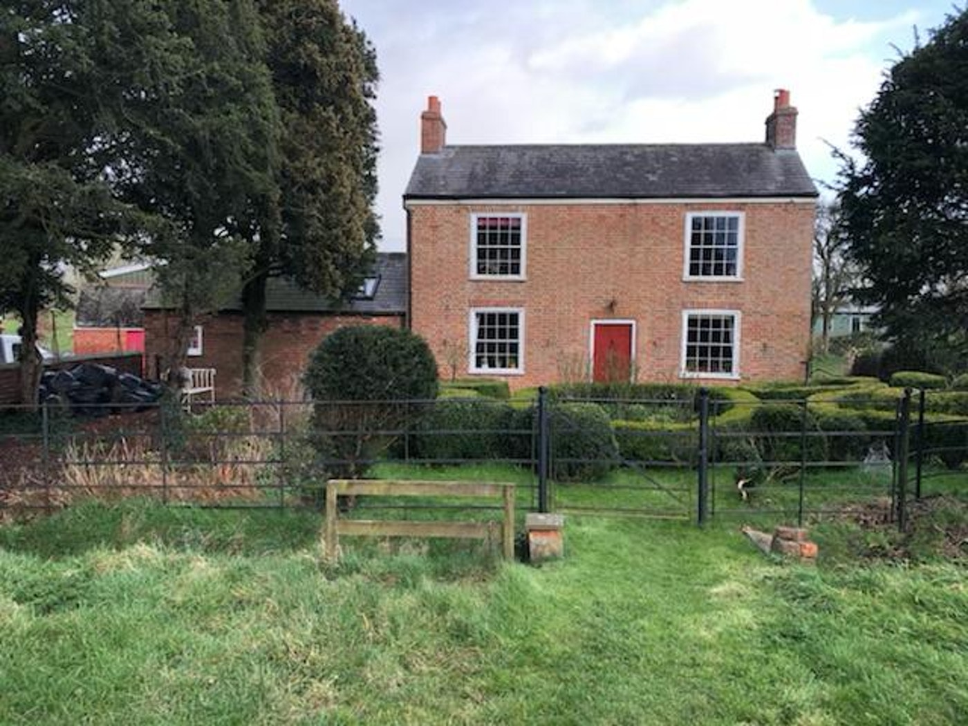 Orchard farm in Leicester, home to Urban Front's first tree planting project