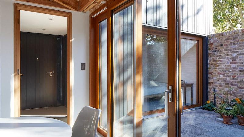 Black front door | Interior | Urban Front