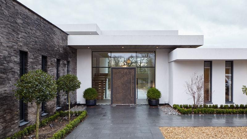 Exclusive doors with designer finishes (ref: Bronze 101 pictured)