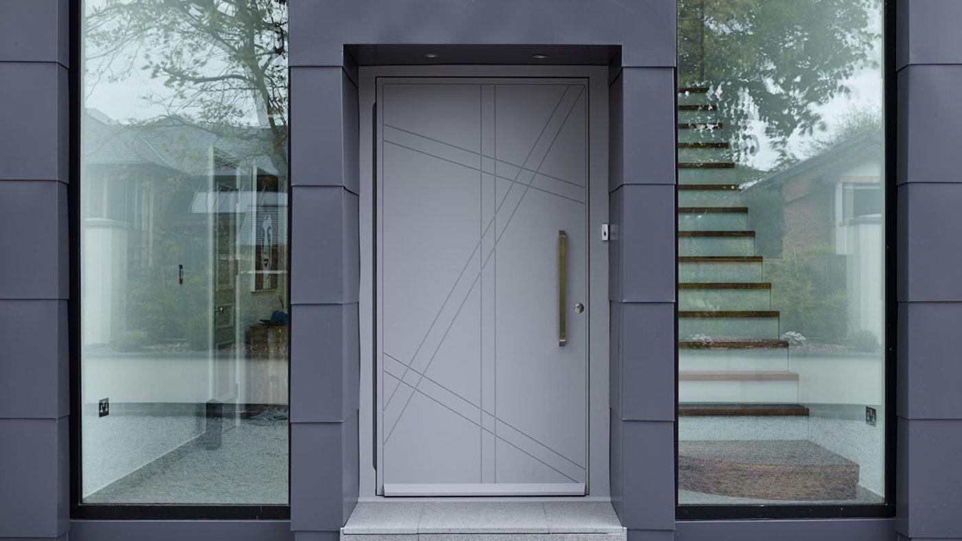 Grey front door Root | Urban Front
