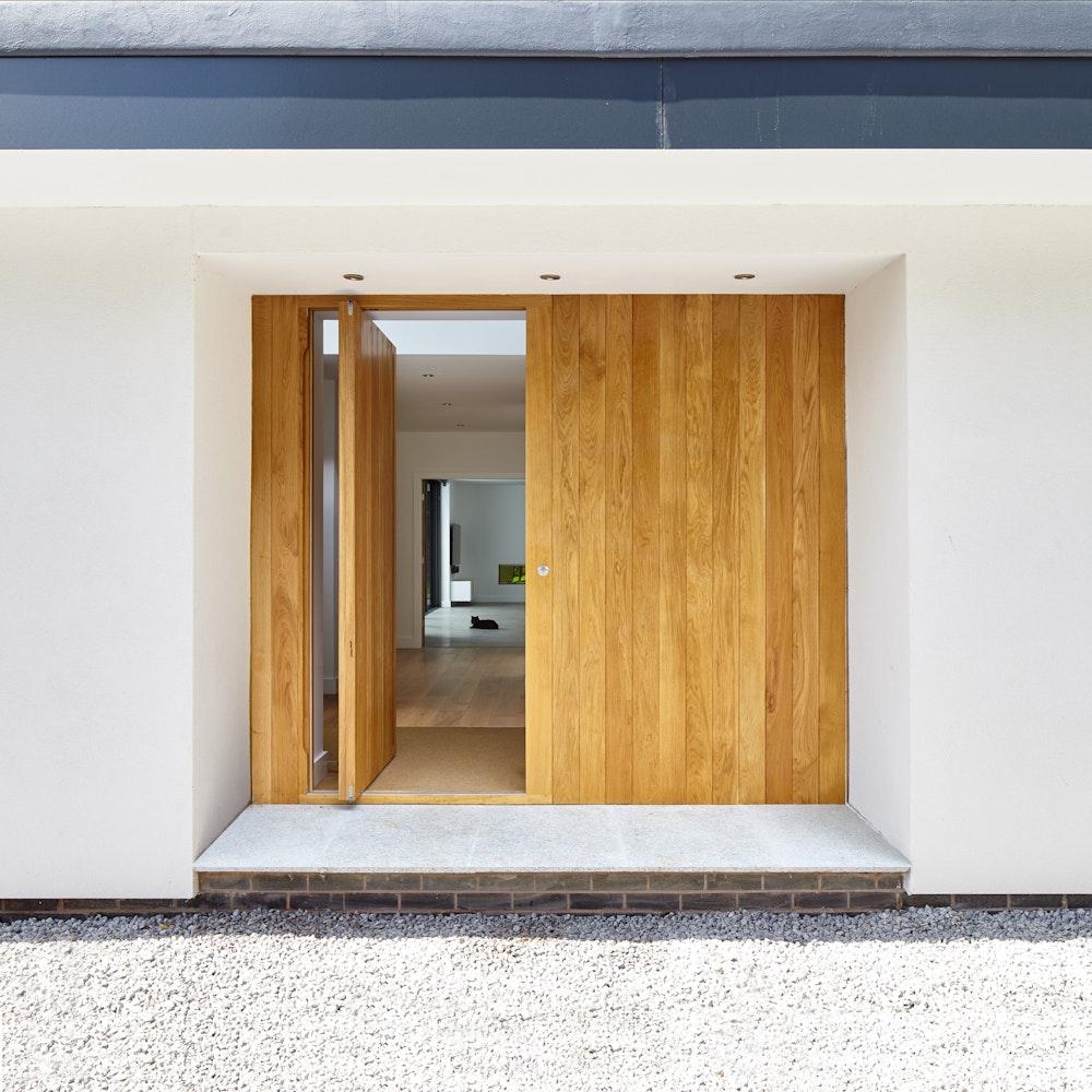 Luxury front doors - Hardwood front doors   Urban Front