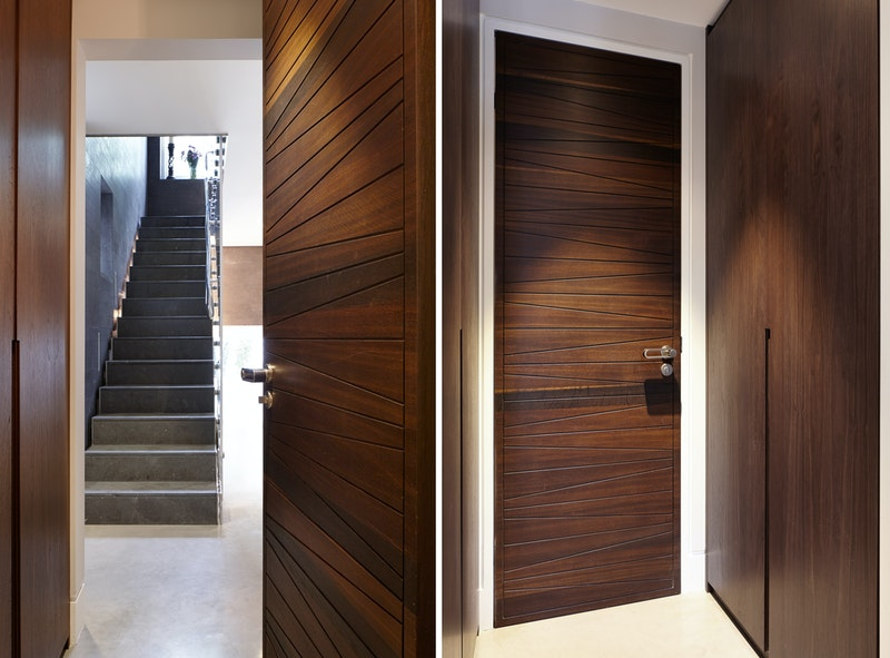 MIlano internal door in American Black Walnut