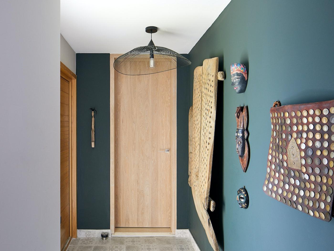 raw | internal door | oak