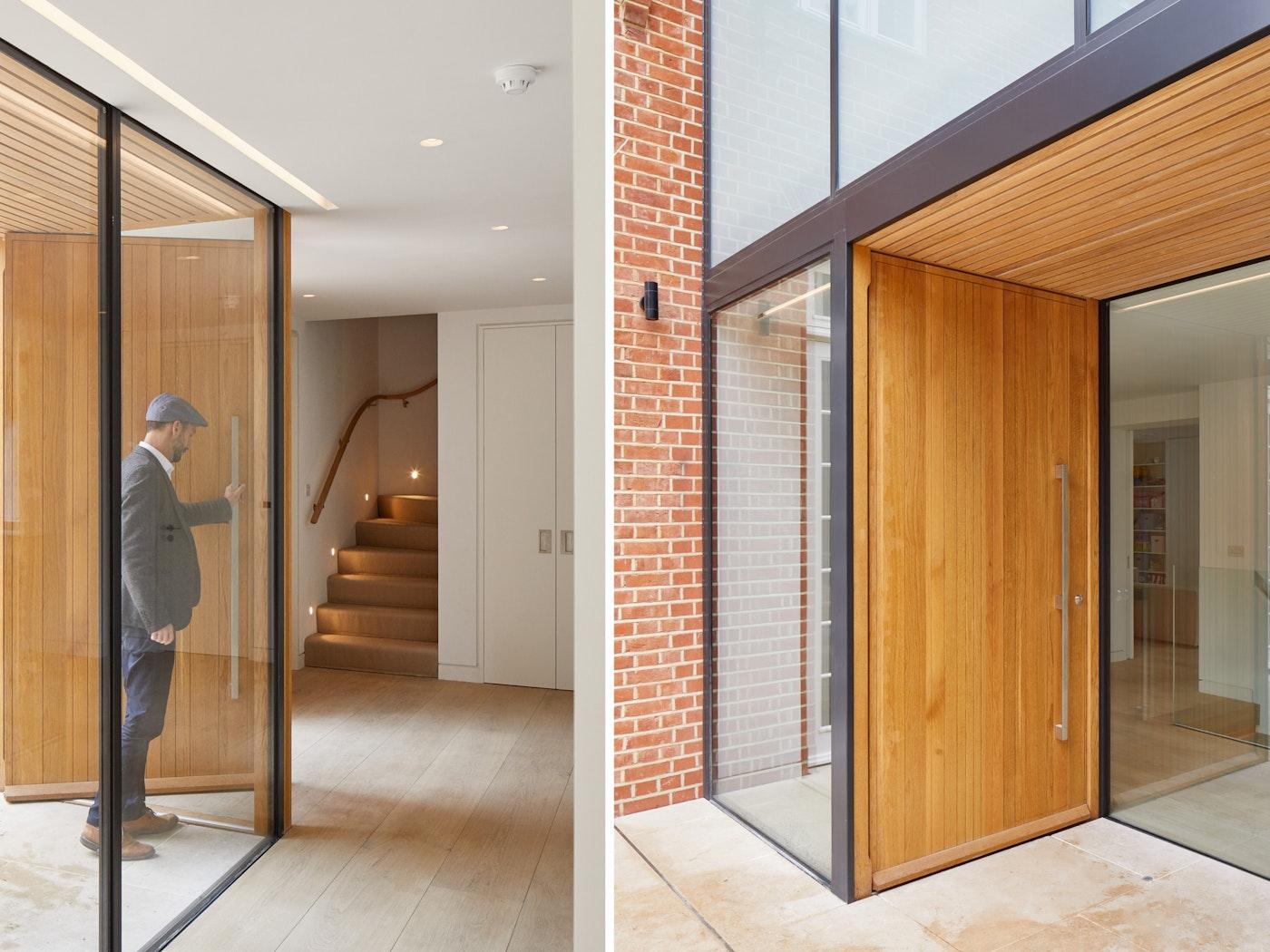 large front doors oak Urban Front v2
