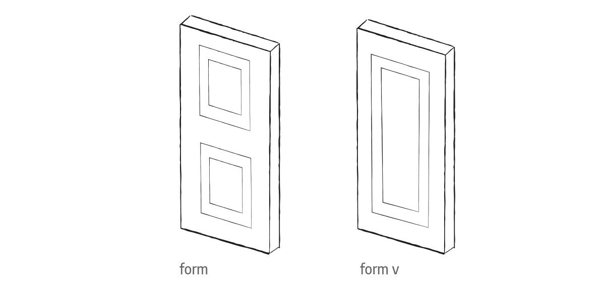 form front door options Urban Front