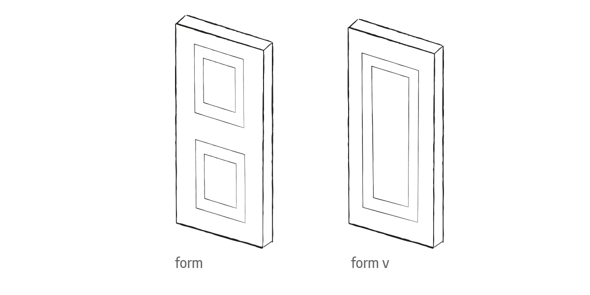 form front door options Urban Front