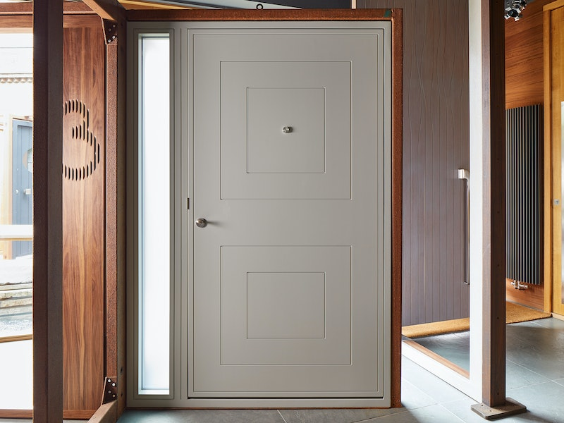 form front door painted white