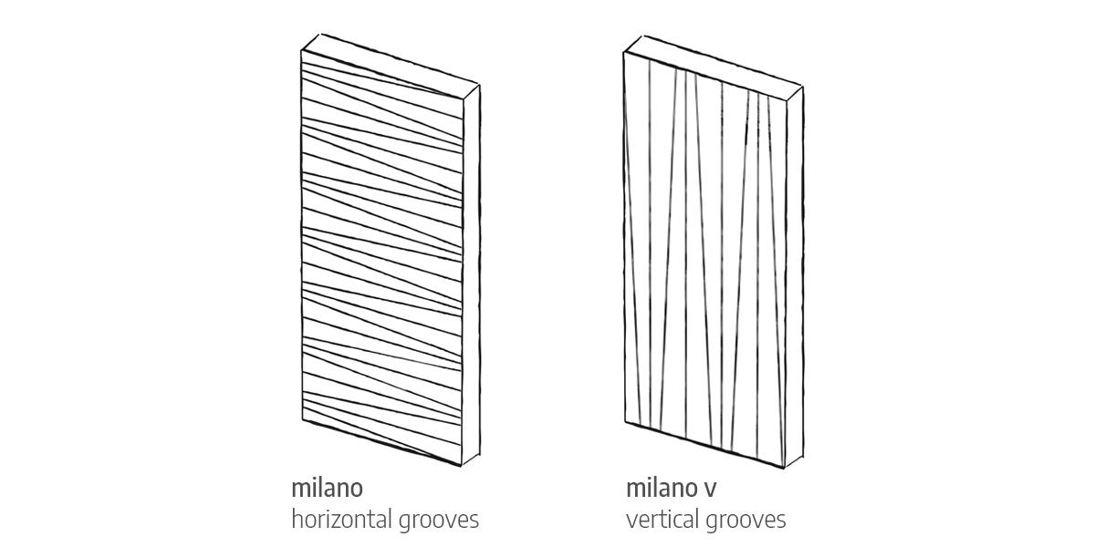 Milano front door design Urban Front