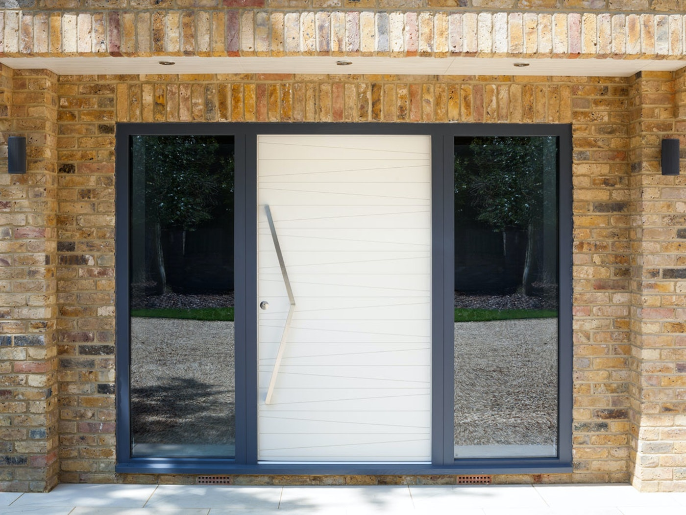 White painted   Milano front door