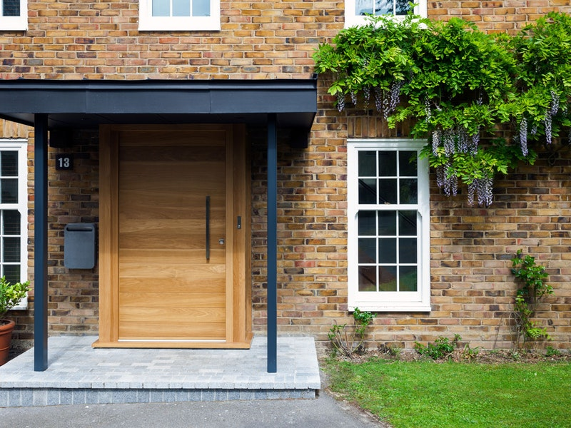Oak wood | Parma front door